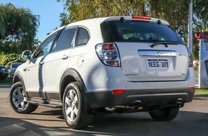 2013 Holden Captiva CG MY12 7 SX (FWD) White 6 Speed Automatic Wagon Glendalough Stirling Area Preview