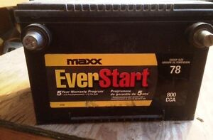MAXX  EVERSTART  5  YEAR  BATTERY  FOR  SALE