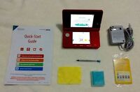 Pink 3DS With Many Games and Accessories