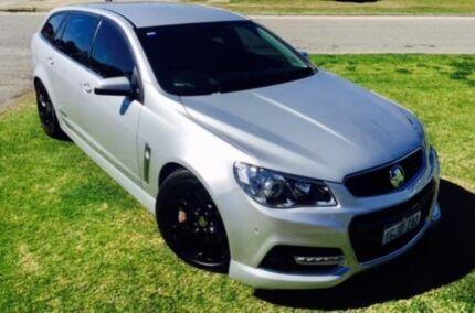 2015 Holden Commodore VF MY15 SS-V Redline Silver 6 Speed Automatic Sportswagon