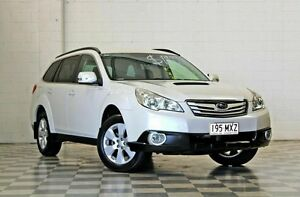 2010 Subaru Outback MY10 2.0D White 6 Speed Manual Wagon Burleigh Heads Gold Coast South Preview