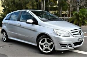 2010 Mercedes-Benz B-Class W245 MY10 B200 Polar Silver 7 Speed Constant Variable Hatchback Five Dock Canada Bay Area Preview