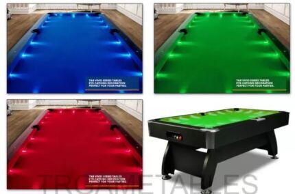 Elegance! Brand New LED Pool Tables! FREE DELIVERY!