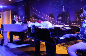 Dueling pianos show - book your entertainment with Rowdy Pianos