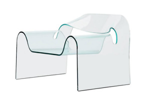 Ghost Chair (ALL SOLID GLASS)