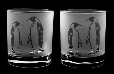 Penguin gift Whisky Glasses