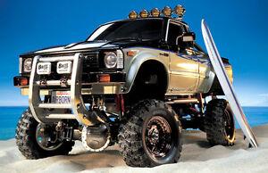 Tamiya 58397 1/10 RC Truck Kit Toyota Hilux Highlift 4x4 3 Speed Pick-Up