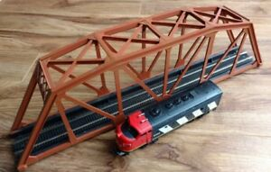 HO Scale Model Train Bridge