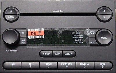 CD6 radio. NOS new OEM CD Changer stereo. Fits Ford F-250 350. 2005-2007 for sale  Effingham