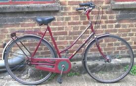Omabike Omafiets ladies dutch bike Gazelle - SHIMANO NEXUS 4 speed, size 20in - Welcome for ride