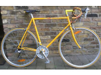 French vintage racing road bike GITANE with COLUMBUS frame size 22inch - 14 speed serviced WARRANTY