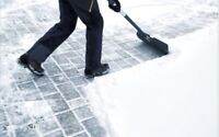Snow shoveling services in Woodbridge and Maple
