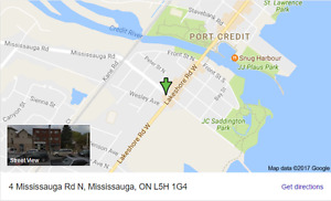 Port Credit Apartment - Lakeshore and Mississauga Rd