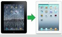 Reparation Ipad 1, 2, 3, 4, air et mini