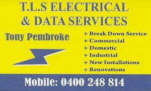 TLS ELECTRICAL & DATA SERVICES (Electrician) Brighton Brisbane North East Preview