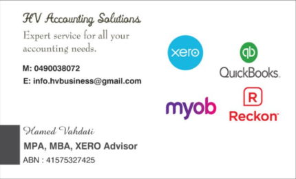 HV Accounting and Bookkeeping