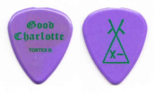 Good Charlotte Billy Martin Cartoon Purple Guitar Pick - 2004 Tour