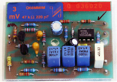 Quad 66 pre amplifier MM phono boards. Moving magnet. Boxed. 3Mv, 47k, 220pf