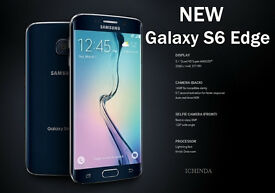 New Samsung Galaxy S6 Edge Mobile Phone - SIM FREE - Boxed - 64GB