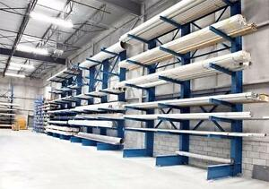 USED & NEW -- Redirack Pallet Racking, Cantilever Racks, Mezzanines, Security Partitions