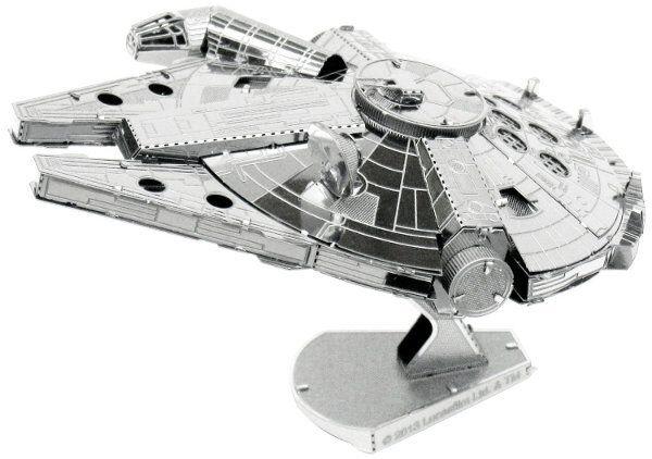 Metal Earth STAR WARS MILLENNIUM FALCON 3D Model Kit - Steel NANO Puzzle