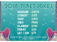 x2 Isle of Wight Festival Tickets