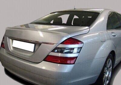 Heckspoiler Kofferraumspoiler Spoiler Lippe passend für Mercedes S-Klasse W221