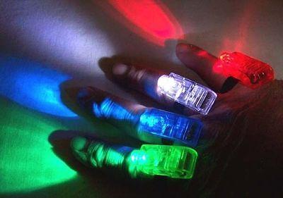 12 sets FINGER BEAM LIGHT hand dance party lights disco flashlight novelties new