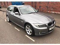 BMW 320D estate, high spec, black leather, alloys. Full years mot High company miles