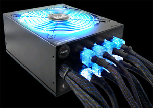 Kingwin 1000w Modular Power Supply *Custom Sleeved*