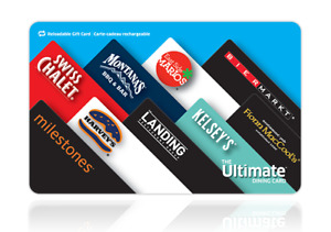 Up to $500 Harvey's/Swiss Chalet/Milestones Gift Card for Sale