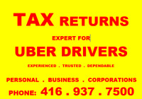 UBER Drivers Specialst TaxReturns..Also open SaturdaySunday..T21