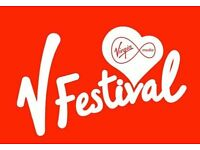 V Festival, Weston Park, Shifnal- Weekend Camping Tickets For Sale