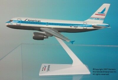 Flight Miniatures 1 200 American Airlines Piedmont Heritage Livery Airbus A319