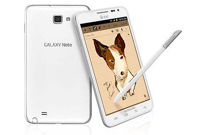 NEW Samsung Galaxy Note LTE SGH I717 - 16GB White AT&T UNLOCKED Smartphone