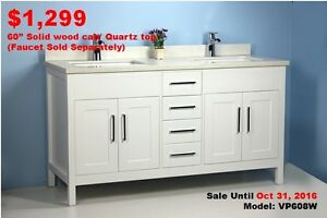 Bathroom Vanities & Toilets Thanksgiving Month Sale! From $129!