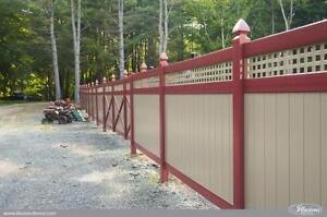 VINYL Fence Products for your Outdoor Oasis PLUS SAVE 10% WHEN YOU REFERRAL BUYS FROM US