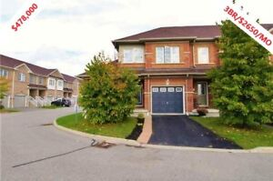 ***MUST SEE WHITBY SINGLE FAMILY HOME***