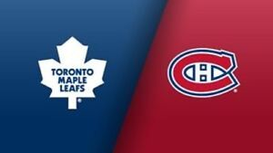 2 Toronto Maple Leaf Tickets