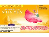 Shen Yun - Coming to London Feb 16th - 25th 2018 Book NOW!