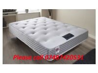 BRAND NEW DOUBLE MEMORY FOAM POCKET MATTRESS-