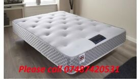 BRAND NEW DOUBLE MEMORY POCKETS MATTRESS