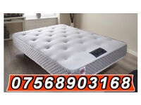 MATTRESS Brand new double memory pocket mattress 50% off DELIVERED FREE THIS WEEKEND 657