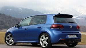BRAND NEW 2010-2012 VW Golf OEM Rear Left Windows & Moulding Ext