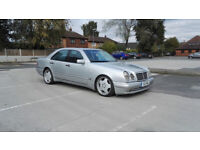 Mercedes E55 AMG W210 1998 394bhp 99k only 5 speed automatic 8 months mot for sale  Pontefract, West Yorkshire