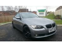 BMW 330 D coupe, red leather, stereo amplifier