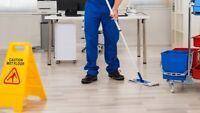 Available! Part time commercial cleaning position