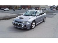 Mitsubishi evo 4 370 bhp with prove 2.0 turbo 6 speed manual 4x4 very rare and very fast