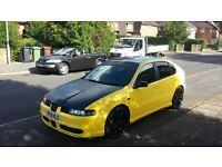 2001/51 SEAT LEON CUPRA 1.8 20V TURBO - RUNS AND DRIVES MINT - SELL TODAY