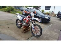 ++++ GAS GAS ES 250F 2014 ROAD LEGAL MOT GREEN LANER +++++